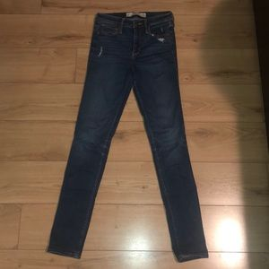 Abercombie & Fitch High Waisted Skinny Jeans